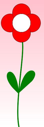 Цветок с помощью Imagick