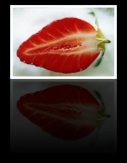 Изображение с отражением